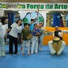 Capoeira with friends