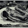 ゴーギャン 「死霊は見ている」 神の食事処 生贄の祭壇
