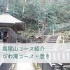 【高尾山】びわ滝コース登り~岩混じりの急な坂~