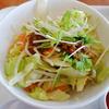 【リンガーハット】 まぜ辛めんは野菜たっぷりでヘルシー!