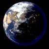 Blender 315日目。「地球のモデリング」その6~大気の表現~。