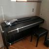 我が家にピアノがやってきた!!!