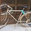 氷見のアーティスト系のおもしろい自転車屋さんの手で、30年前のロードバイクがよみがえった話♪