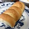 ミニフランス食パンの生地で。