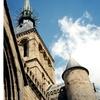 モンサンミシェルの尖塔三景