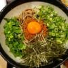 【肉そば ごん@虎ノ門】山椒の辛さがガツンとくる!!特製しびれまぜそば