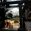関東三大天神の一つ「湯島天神」。梅と牛と王貞治氏と泉鏡花!?