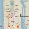 マンハッタンの渋滞