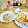 【野田阪神 ぎようざの満州】 3割うまいカリカリの餃子