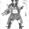 習作(オリジナル艦娘『天霧』) (アナログ1枚)