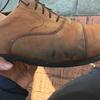 靴磨きをした際、磨いた部分が黒くシミになる原因と対策・解決方法とは。