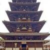 塔のなかの塔、五重塔といえば五重塔、法隆寺五重塔