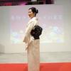 【コーディネート例】着物ランウェイin東京へ~七宝の暈かし柄の小紋と唐草の名古屋帯