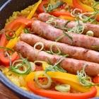 浸水いらず、フライパン10分で炊けるインドのスパイスご飯「丸ごとソーセージのせプラオ」の作り方【バリ猫ゆっきー】