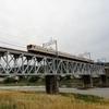 近鉄吉野線の吉野川橋梁 (2021. 5. 4.)