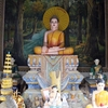 Dombok Khpuos Pagoda のお寺さん。