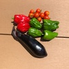 初心者の家庭菜園 2年目 ナスとピーマン、トマトが獲れました