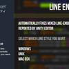【Unity】改行コードを統一できる「Line Endings Fixer」紹介(無料)