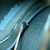 1971 マスタングマッハ1 右クォーターパネル13 防錆塗装
