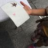 ブックフェスティバルで紙すき体験!