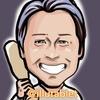 iPadproで描いた 片岡治大さんの似顔絵と似顔絵が出来上がるまで。