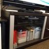 100円ショップの材料でニトリのテレビ台の扉を簡単リメイク
