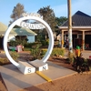 【ウガンダ】サファリへ向かう途中で赤道通過~赤道って渦巻かないの?