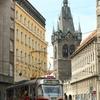 電車の似合う街、プラハ