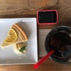 musubi-cafeで小夏のタルト