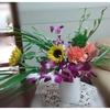 今週のお花とちっさなアイデア☺️