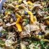 豚肉と夏野菜のジンジャーマヨネーズソテー