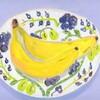 バナナと梨。