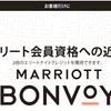 マリオットボンヴォイ エリートナイトクレジット2倍キャンペーンの利用レポ SPGアメックスを活用してお得に旅する