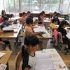 2年生:書写 ぐうぺたぴんの姿勢で字の練習