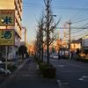 水曜日:歩道の右を歩く