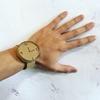 ダンボールで腕時計をつくってみた