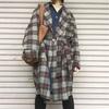 今日の服|ボリュームのある古着のガウンを攻略したい!重ね着コーデ