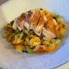 鶏むね肉のパスタサラダ