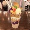 ボリューム満点!紫芋とリンゴのボンボンパフェ(ラ・ボエム クアリタ @渋谷)