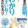 1300円の書籍では「ありえない」特典!説明上手になるためのコツが分かる「いまセツ」特典動画感想。