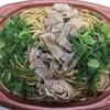 肉盛り!もっちり麺のネギ塩焼そば  460円 at セブン-イレブン_池袋北口平和通り店