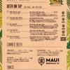 6月19日(水)《Mauiグッズ販売中》18時~24時(23時LO)