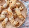 枝豆とチーズのねじねじ///食パン