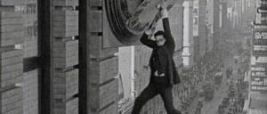 1920年代のサイレント・ムービー。特殊効果のカラクリがすごい
