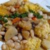 トスカニー風シェパーズパイと、お急ぎで豆を炊く