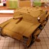 プラモ戦車道(9):セモベンテM40(塗装)