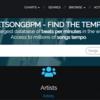 BPMから楽曲、楽曲からBPMを検索できるWebサイト: GetSongBPM