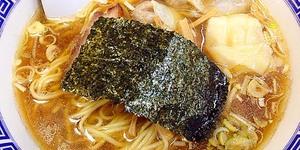 【西荻窪・いしはら】「たんたん亭」創業者による小粋なラーメン屋のミックスワンタンメン