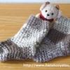 セリアの毛糸で編む、クリスマス飾りのミニ靴下