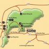 Trekking in Thailand National Parks No.1 - チャイヤプーム/Chaiyaphum(ชัยภูมิ) でサイアムチューリップ:クラジアオ(กระเจียว)を観る-